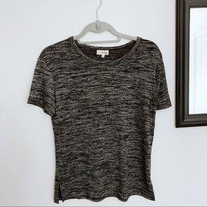 ARITZIA/ Wildfred Free heathered grey short sleeve